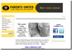 parentsunited.org